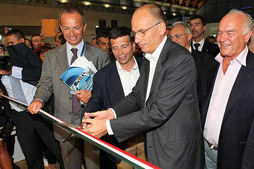 Il premier Letta con il ministro dei trasporti Lupi - foto di Maurizio Lupi