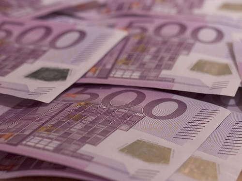 Euro banknotes - foto di Maik Meid