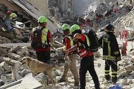 Terremoto - fonte Protezione civile