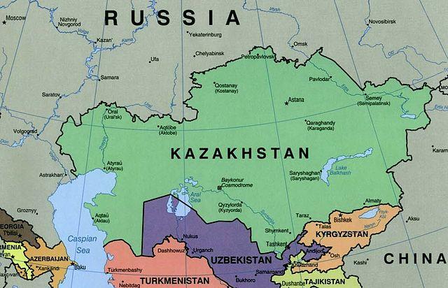 Kazakhstan - Author U.S. Central Intelligence Agency