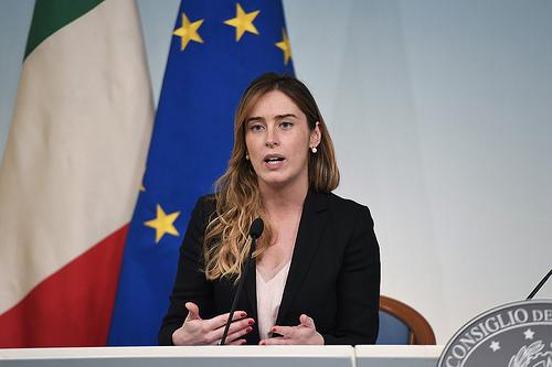 Maria Elena Boschi - fonte: Governo