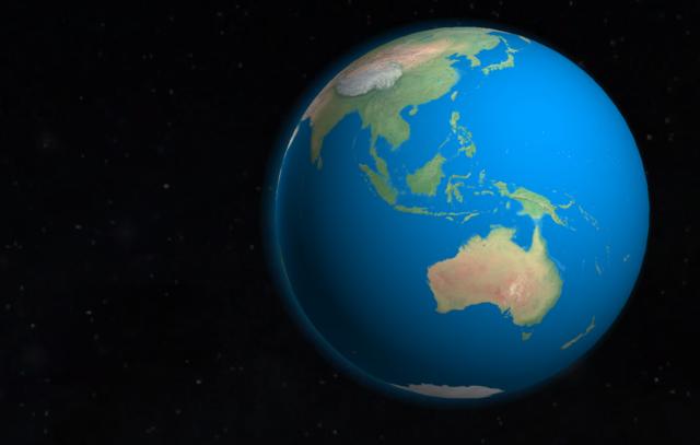 Indonesia - Author Globe Master 3D