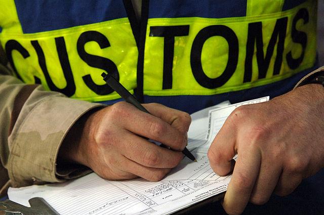 Customs - U.S. Navy photo by Mass Communication Specialist 2nd Class Kitt Amaritnant