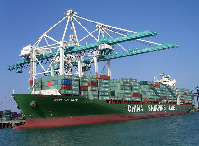 China shipping - Photo credit Tuija Aalto