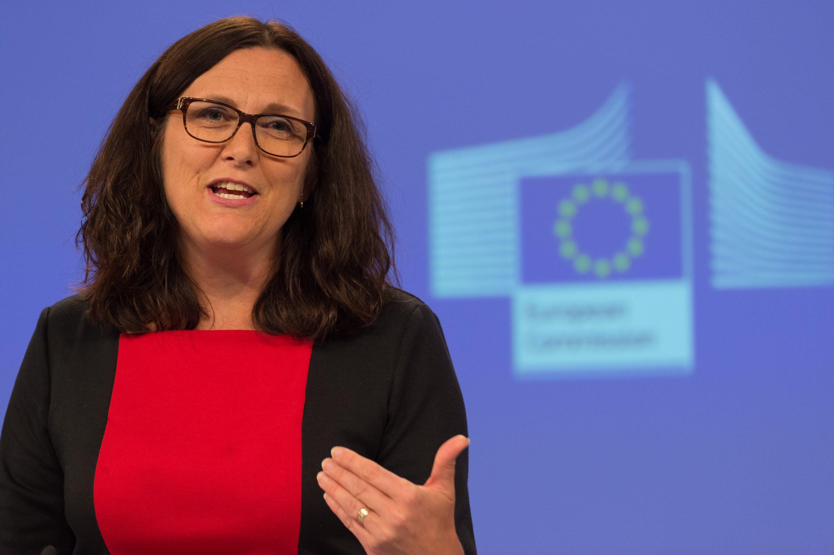 Cecilia Malmstroem - © European Union, 2015 / Source: EC - Audiovisual Service / Photo: Georges Boulougouris