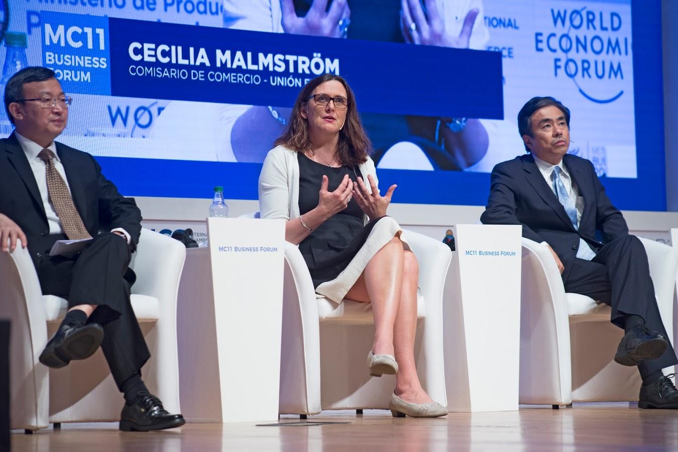Cecilia Malmstroem - © European Union, 2017 / Photo: Erika Villano