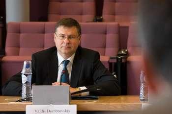 Fintech - Valdis Dombrovskis - © European Union , 2017/Source: EC - Audiovisual Service/Photo: Lukasz Kobus