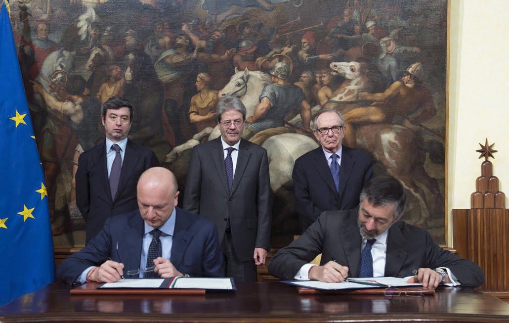 Accordo Abi-Confindustria - Foto: Tiberio Barchielli