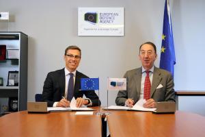 Alexander Stubb e Jorge Domecq - Photo credit: European Defence Agency