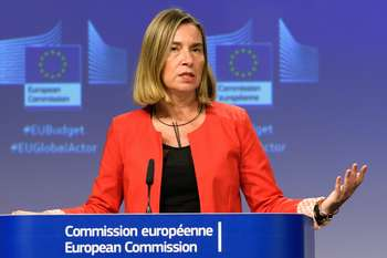 Federica Mogherini su bliancio UE azione esterna - © European Union , 2018 / Photo: Georges Boulougouris