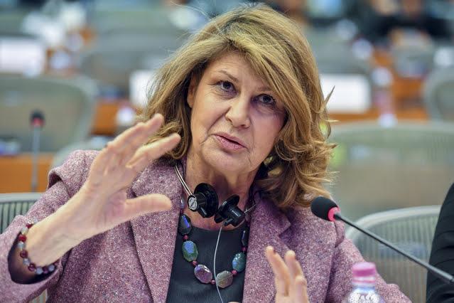 Silvia Costa - © European Union 2018 - Source : EP, EP-064705A, fotografo : Geert VANDEN WIJGAERT