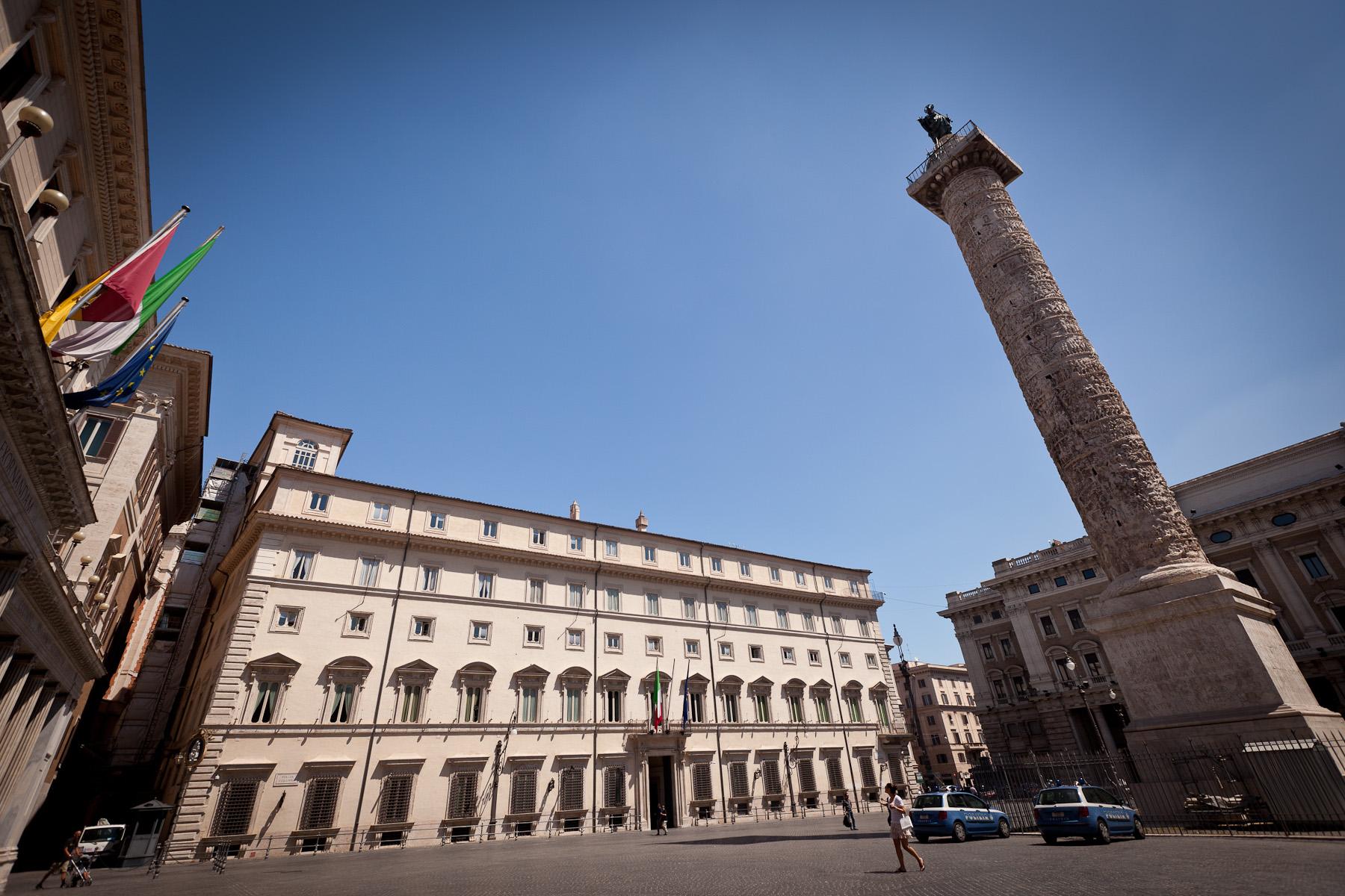 Palazzo Chigi - photo credit: jimmyweee