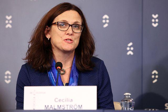 Cecilia Malmstroem - Author EU2016 SK