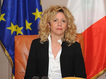 Barbara Lezzi - photo credit: Governo
