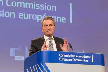 Oettinger - © European Union, 2018/Source: EC - Audiovisual Service/Photo: Basia Pawlik