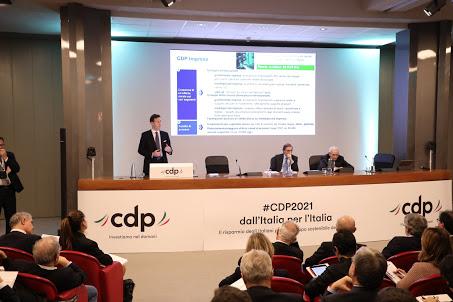 Presentazione Piano industriale - photo credit: Cassa Depositi e Prestiti