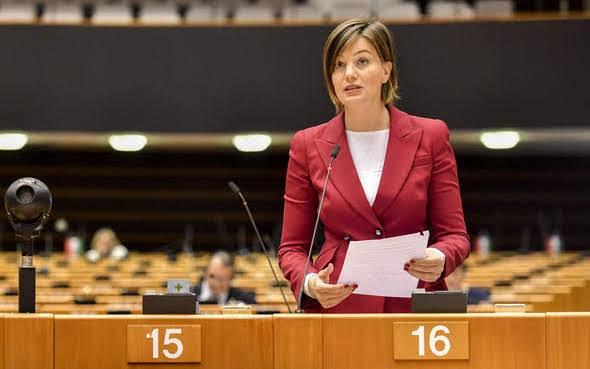 Lara Comi Photo credit Geert VANDEN WIJNGAERT © European Union 2018 - Source: EP