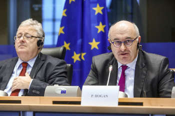 Phil Hogan - Photo credit: Alexis Haulot © European Union 2017 - Source: EP