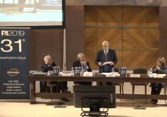 Rapporto Italia 2019 - Photo credit: Eurispes