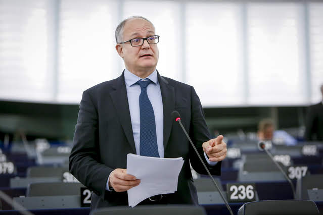 Roberto Gualtieri - Photo credit: Mathieu Cugnot © European Union 2019 - Source: EP