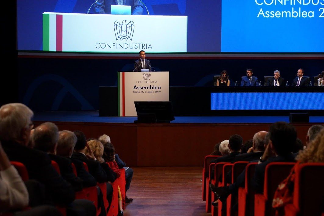 Luigi Di Maio - Photo credit: Confindustria