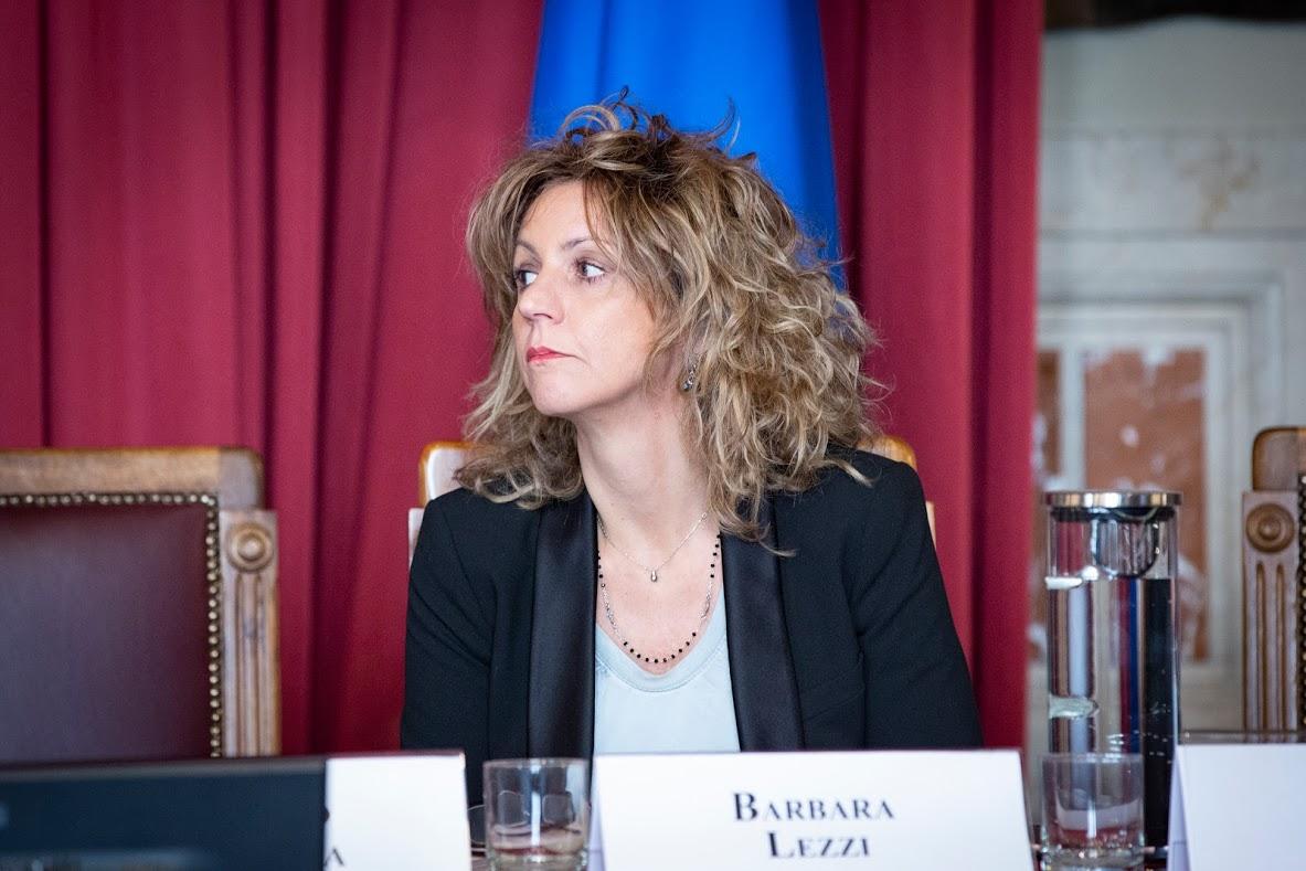 Barbara Lezzi - photo credit: Ministero per il Sud