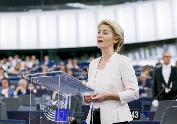 Ursula von der Leyen - Photo credit: Mathieu Cugnot © European Union 2019 - Source: EP