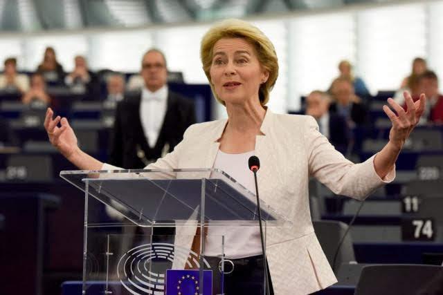 Ursula von der Leyen - Photo credit: European Union, 2019 Source: EC - Audiovisual Service - Photographer: Etienne Ansotte