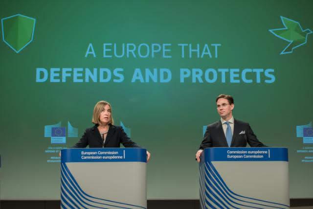 Fondo europeo difesa - Photo credit: Photographer: Julie de Bellaing - European Union, 2017 Source: EC - Audiovisual Service