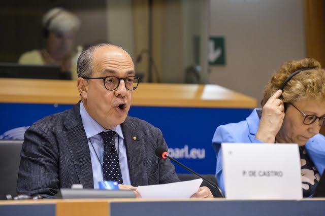 Paolo De Castro - Benoit Bourgeois © European Union 2019 - Source: EP