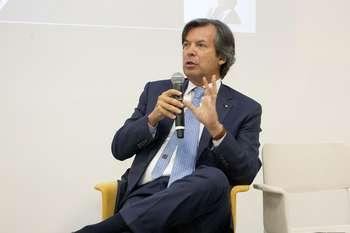 Carlo Messina - foto da pagina Twitter Intesa San Paolo