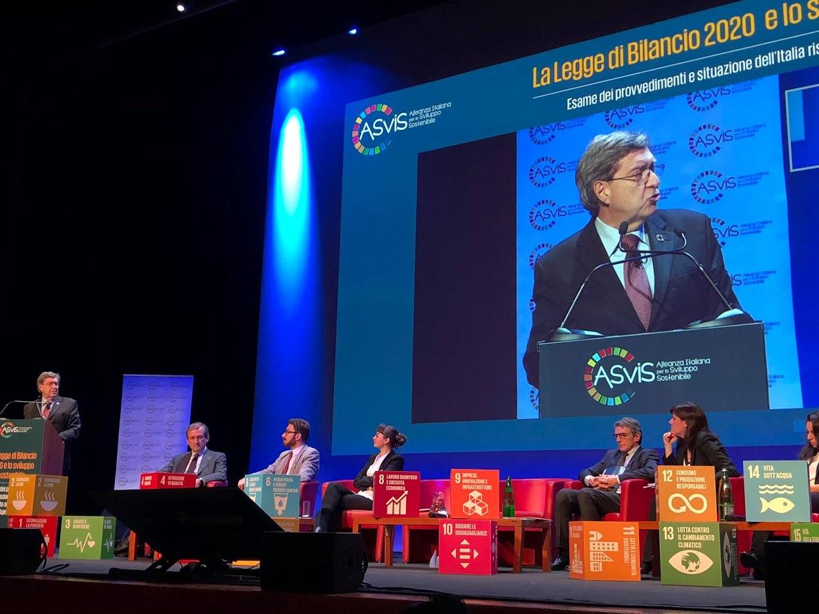 Obiettivi di sviluppo sostenibile - foto di profilo Twitter ASviS