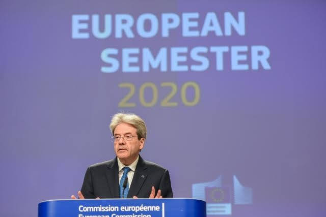 Paolo Gentiloni - photocredit European Union, 2020