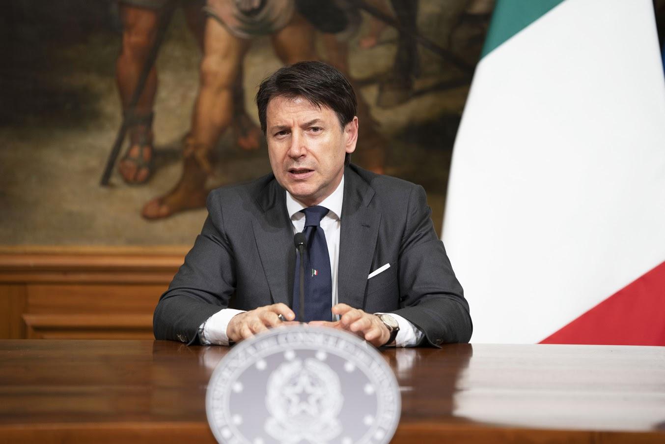 Giuseppe Conte - Photo credit: Palazzo Chigi