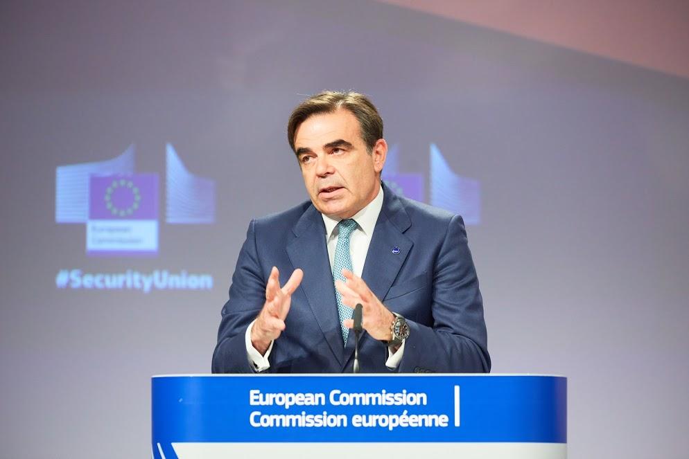 Margaritis Schinas - Photo credit: European Union, 2020 / EC - Audiovisual Service - Photographer: Claudio Centonze