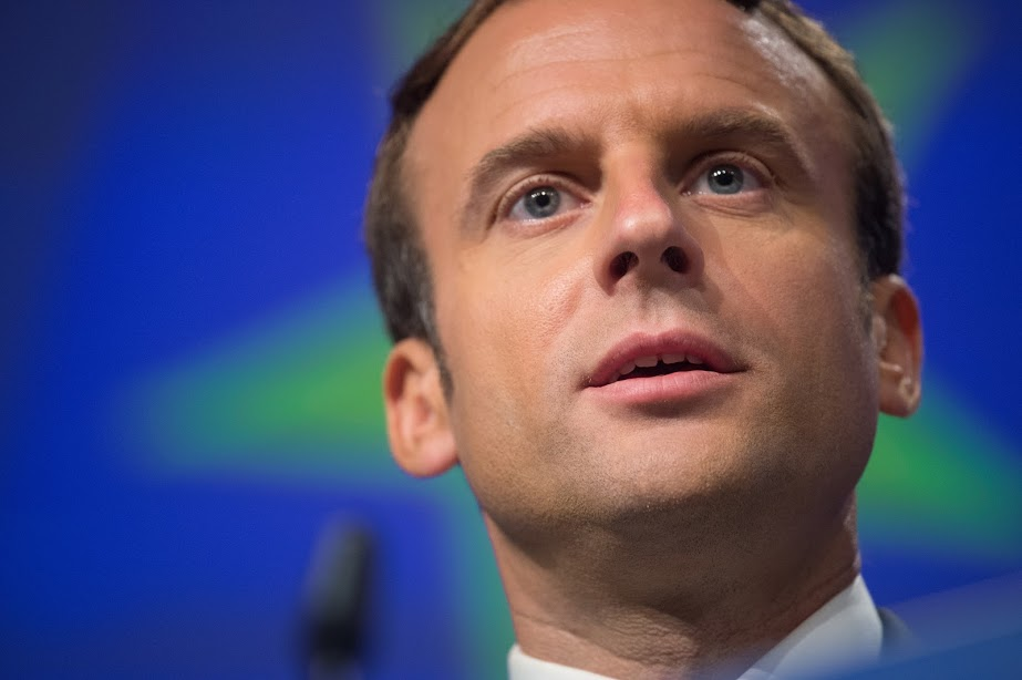 Emmanuel Macron - European Union, 2017 - Source: EC - Audiovisual Service - Photographer: Mauro Bottaro