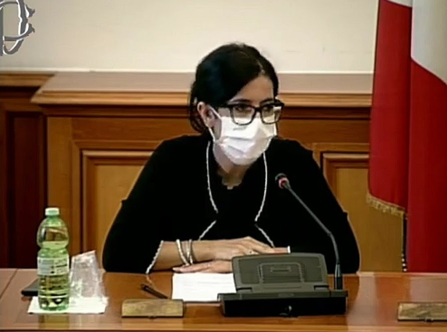 Recovery Fund: ministra Dadone su Recovery Plan - photo credit: profilo Twitter Fabiana Dadone