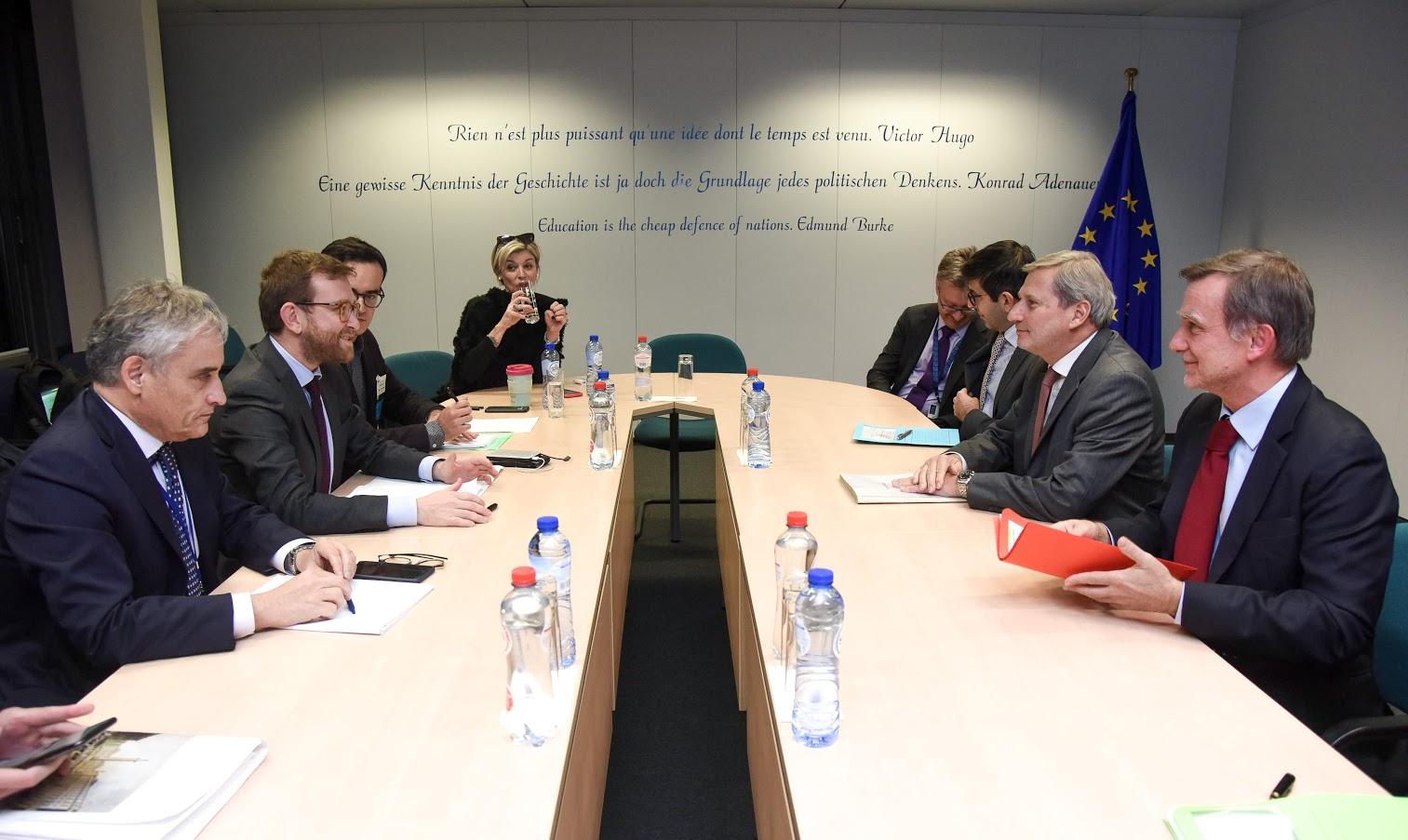 Provenzano a Bruxelles - Photo credit: European Union, 2019 - Photographer: Jennifer Jacquemart