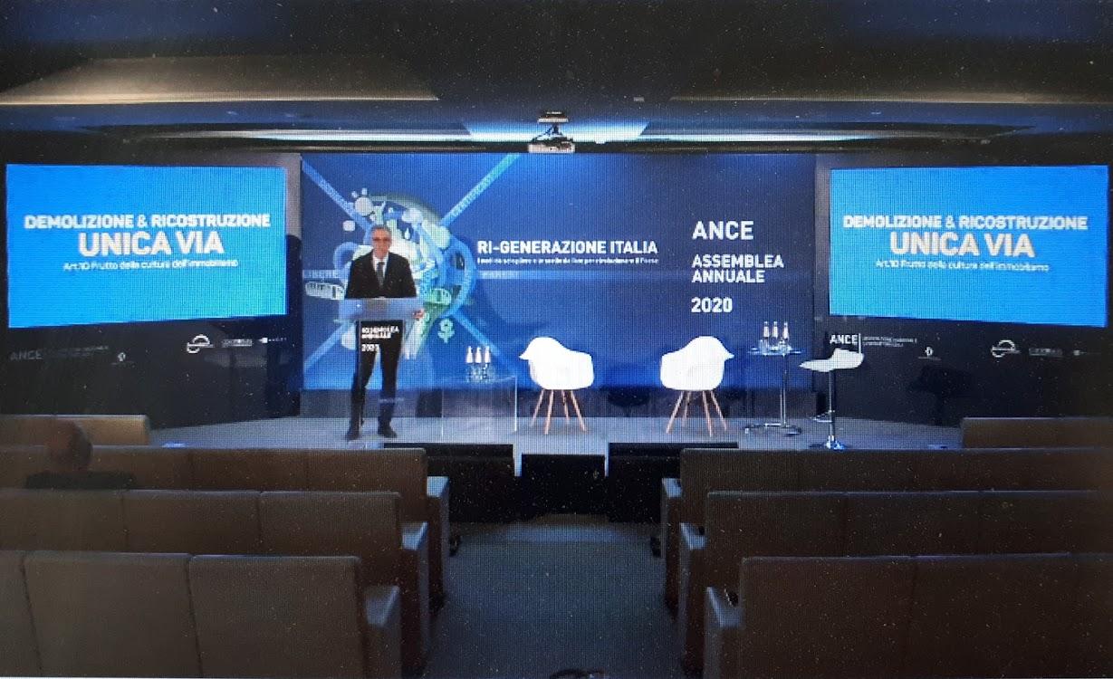 Assemblea ANCE 2020 - Gabriele Buia