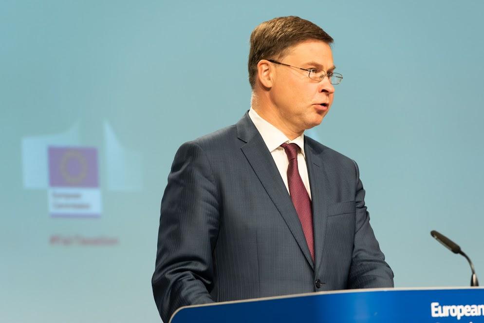 Valdis Dombrovskis - Photo credit: European Union, 2020 / Source: EC - Audiovisual Service