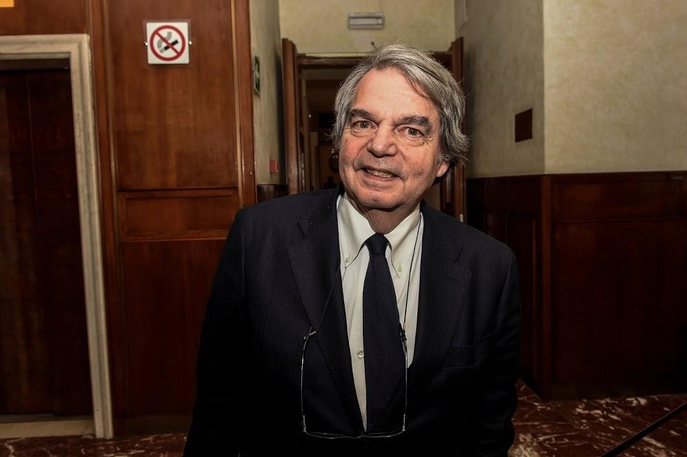 Ministro per la Pubblica amministrazione Brunetta - photo credit: profilo Twitter Senato Repubblica