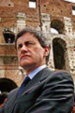 Gianni Alemanno, Sindaco di Roma - foto di Oscar Federico Bodini