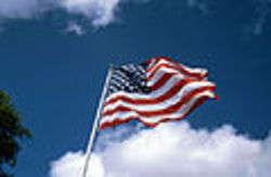 Usa flag - foto di FrankBrueck