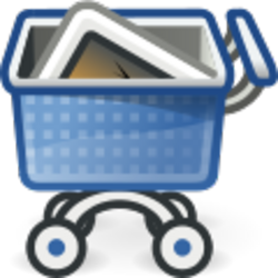 Shopping cart - immagine di Rocket000