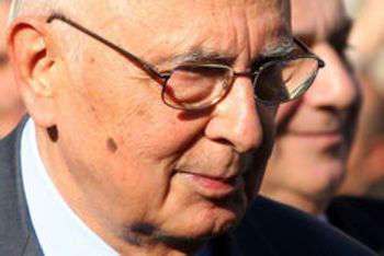 Presidente della Repubblica, Giorgio Napolitano - foto di Dantadd