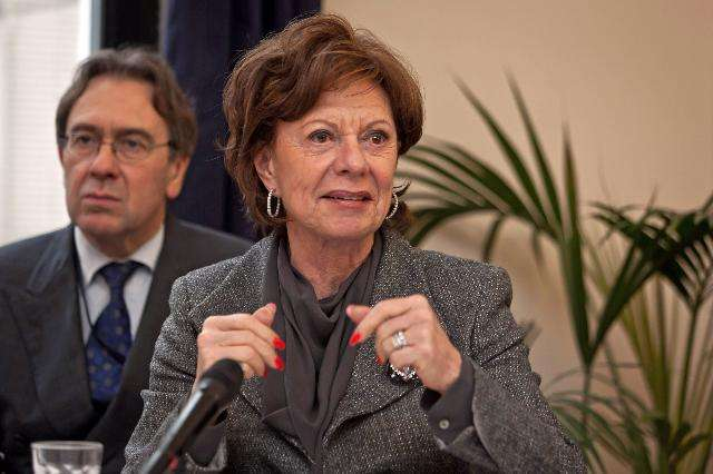 Neelie Kroes - Vice-President EC in charge of Digital Agenda - Credit © European Union, 2012