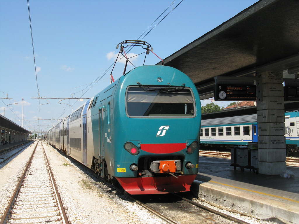 Treno - Author: bindonlane / photo on flickr