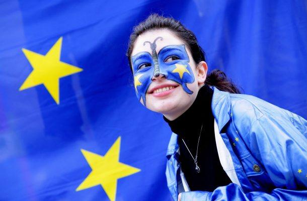 Pro Euro Demonstration
